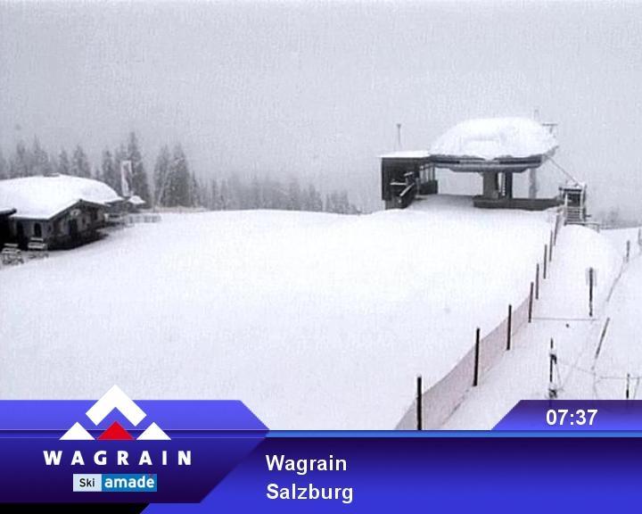 anklicken für Webcam am Grafenberg in Wagrain
